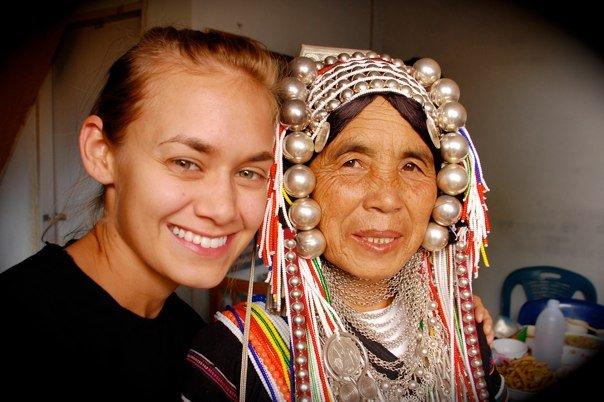 Jacki & Akha Woman